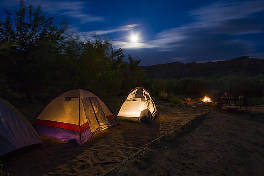 Adam Romanowicz - Campfire and Moonlight