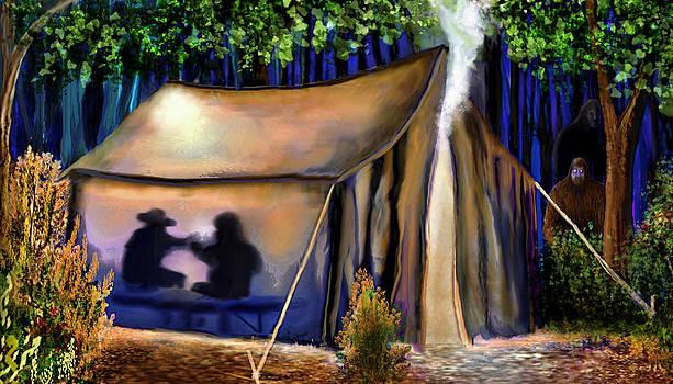 Campsite Visitation by Dlbt-art