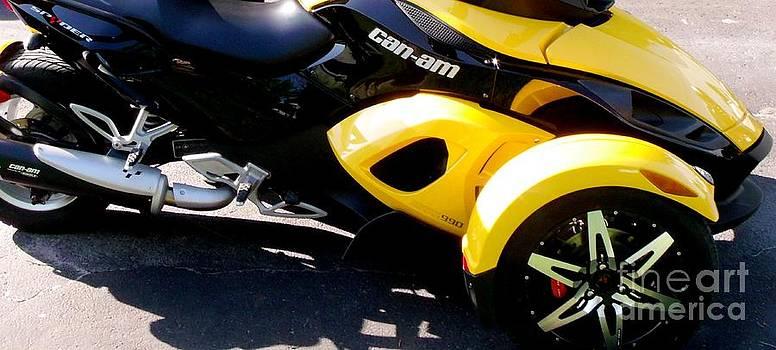 Gail Matthews - Can-Am Roadster Spyder Motorcycle