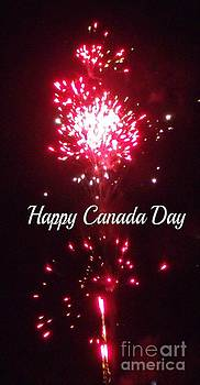 Gail Matthews - Canada Day Fireworks