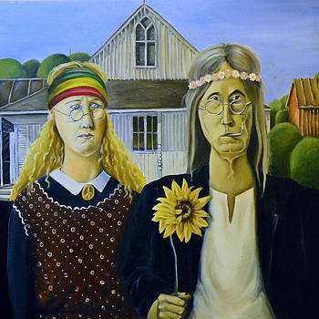 Canadian Gothic  by Celina Frisson