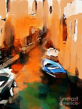 Canal Locanda Venice by Jennifer Wu