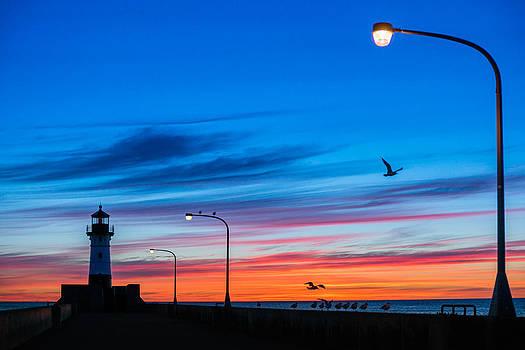 Canal Park Sunrise by Mark Goodman