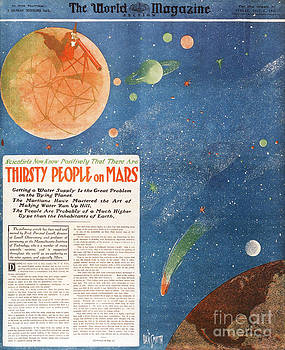 NYPL - Canals on Mars 1906