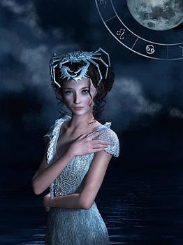 Cancer zodiac fantasy by Britta Glodde