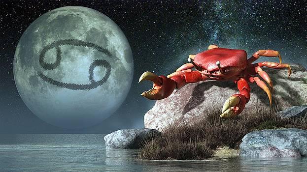 Daniel Eskridge - Cancer Zodiac Symbol