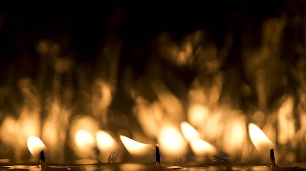 Steven Poulton - Candle Flames