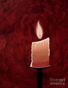 Candlelight by Kim Doran