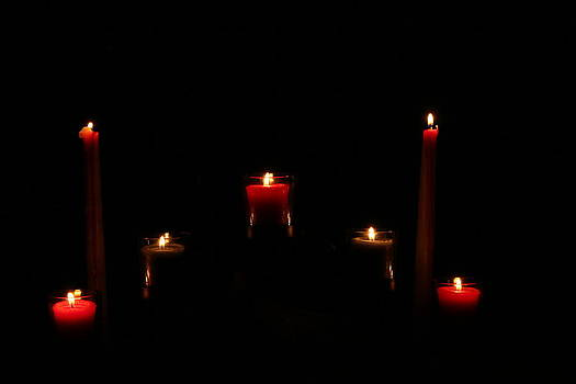 Candles  by Ronald Hanson
