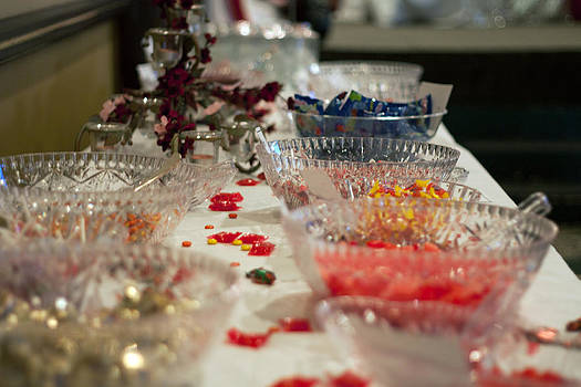 Candy in Bowls by Terry Thomas