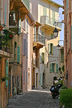 Christine Till - Cannes - Le Suquet - France