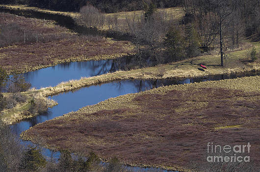Steven Ralser - Canoe by creek