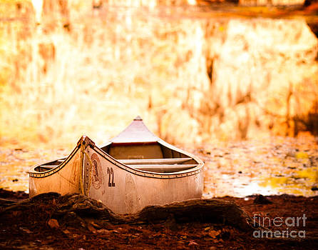 Sonja Quintero - Canoe on Caddo Lake