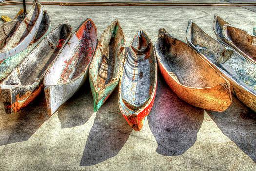 Canoes by Debra and Dave Vanderlaan