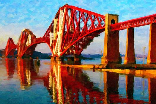 Chuck Mountain - Edinburgh Cantilever Railway Bridge