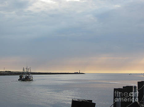 Cape Cod Canal by Lisa  Marie Germaine