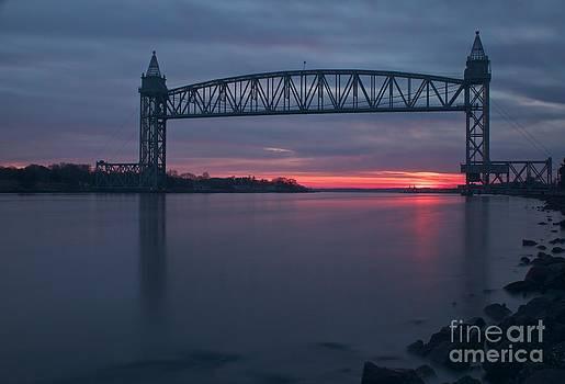 Amazing Jules - Cape Cod Canal Train Bridge at Sunset