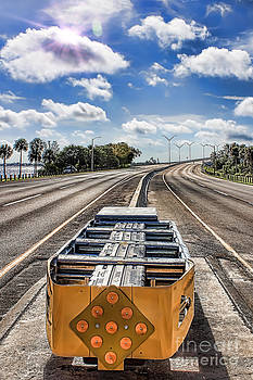 Cape coral Bridge by David Lane