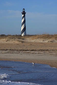 Cape Hatteras Lighthouse- North Carolina by Michael Weeks