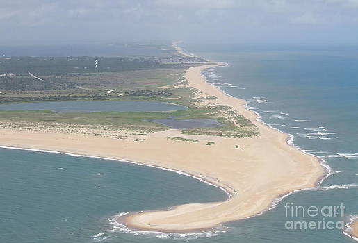 Cape Hatteras The Postcard by Cathy Lindsey