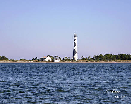 Cape Lookout Light by James Lewis