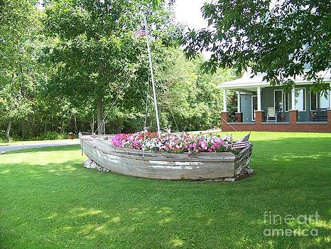 Cape Vincent Flowerboat by Kevin Croitz