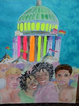 Capitol Celebration by Jack Donahue