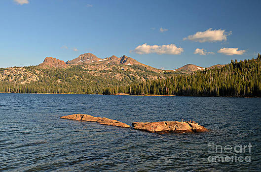 Caples Lake at Sunset by Rincon Road Photography By Ben Petersen