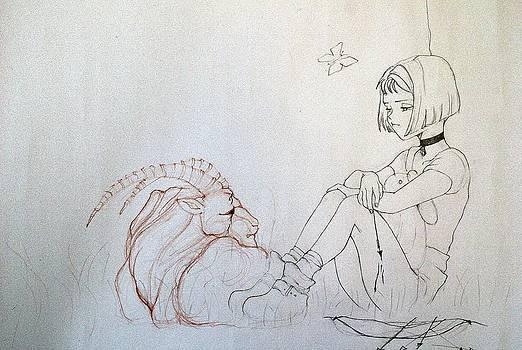 Capricorn by Adina Bubulina