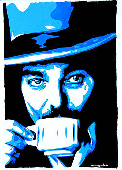 Captain Beefheart. by Nancy Mergybrower