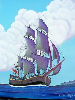 Captain Cook   Endeavor by Thomas F Kennedy