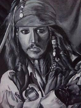Captain Jack Sparrow by Lori Keilwitz