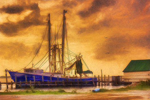 Barry Jones - Shrimp Boat - Dock - Captain Ricky