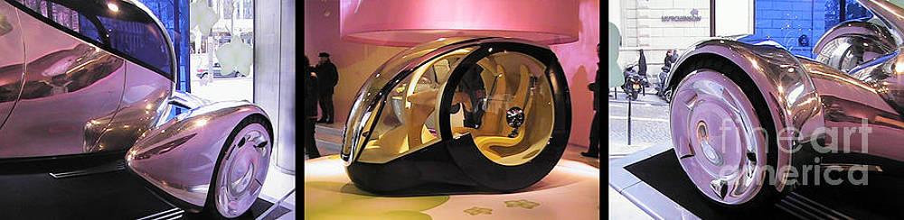 Daryl Macintyre - Car showroom on Champs Elysees