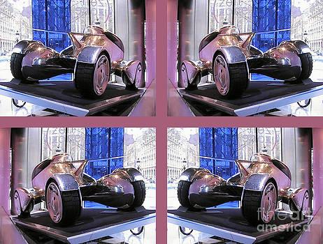 Daryl Macintyre - Car showroom on Champs Elysees ll