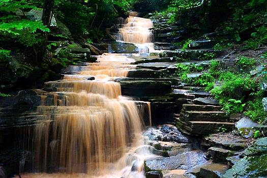 Caramel Waterfall by L Granville Laird