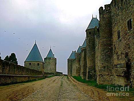 Carcassonne Walls by France  Art