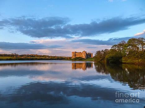 Carew Castle Pembrokeshire Wales by Corinne Johnston
