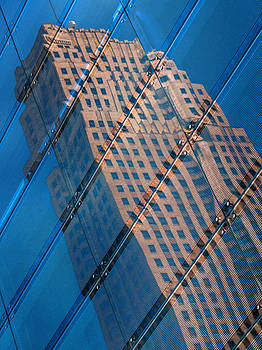 Carew Tower Reflection by Rob Amend