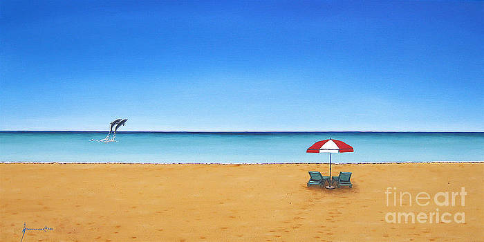 The Perfect Beach by Jerome Stumphauzer