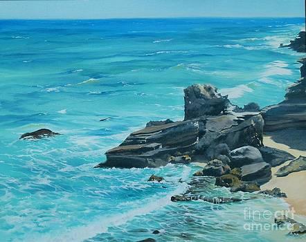 Caribbean Blue by Linda Hunt
