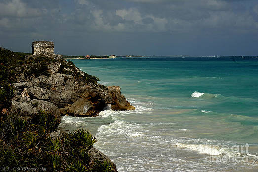 Caribbean Blue by Melissa Nickle