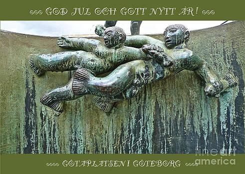 Carl Milles Poseidon detail by Leif Sodergren