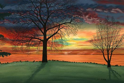 Carla's Sunrise by George Burr
