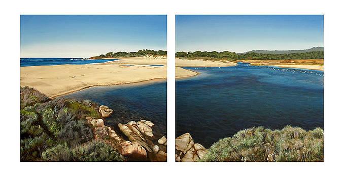 Carmel Lagoon Beach by Logan Parsons