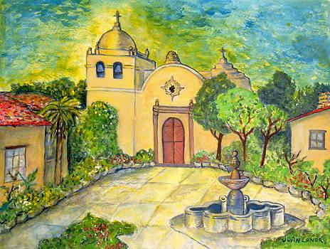 Carmel Mission by Joan Landry