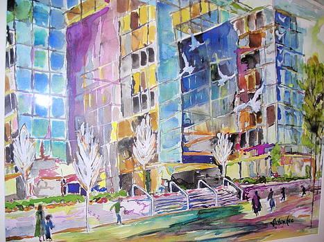 Carmike Plaza by Helen Lee