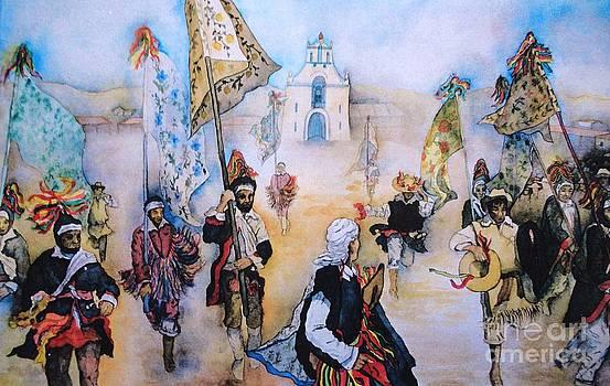 Carnaval in Chiapas II by Dagmar Helbig