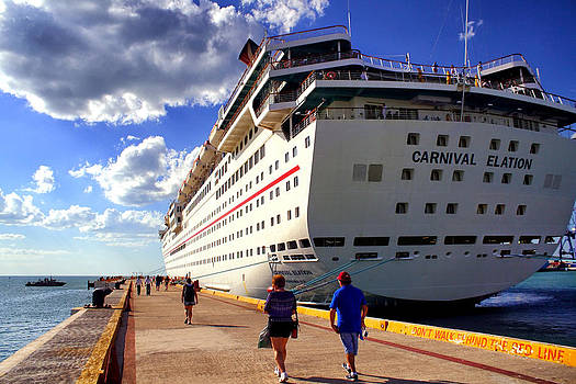 Jason Politte - Carnival Elation Docked in Progreso
