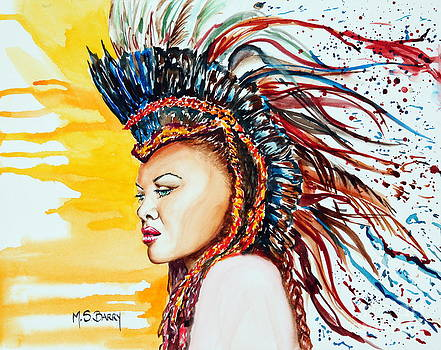 Carnival Queen by Maria Barry